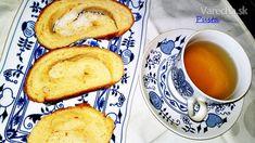 Medový kysnutý koláč (fotorecept) - Recept Latte, Tea Cups, Tableware, Food, Dinnerware, Tablewares, Essen, Meals, Dishes