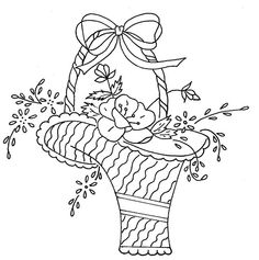 flower basket 2 by love to sew, via Flickr