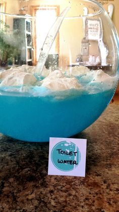 Toilet Water (Blue Punch)