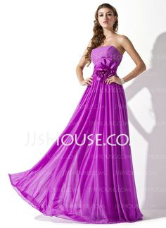 Prom Dresses - $113.99 - A-Line/Princess Strapless Floor-Length Chiffon Charmeuse Prom Dresses With Ruffle Beading (018013790) http://jjshouse.com/A-line-Princess-Strapless-Floor-length-Chiffon-Charmeuse-Prom-Dresses-With-Ruffle-Beading-018013790-g13790