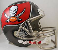 Tampa Bay Buccaneers Full Size Replica Football Helmet New 2014 - Sports Integrity