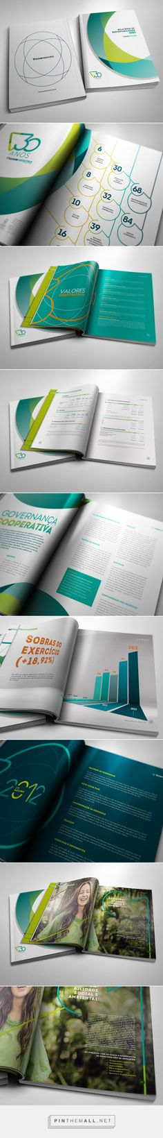 Sicoob Credicitrus Annual Report 2012 on Behance - created via http://pinthemall.net