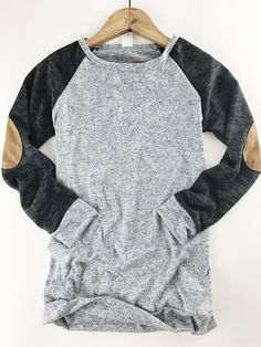Two Tone Sweater Top