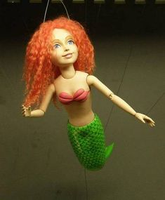 The Little Mermaid (marionette show ) - POTTERY, CERAMICS, POLYMER CLAY