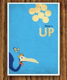 Disney-Pixar's Up - A3 Poster, via Etsy.