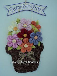 Juliane Storck Bonek's: Vasinho de flores