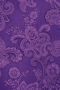 Purple Paisley!