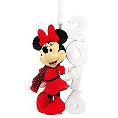 Hallmark 2016 Minnie Mouse Disney Christmas Tree Ornament