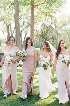 """From the editorial, """"The Epitome of Traditional Elegance at the Armour House in Chicago"""". The bride says, """"For florals and decor, I love a minimalist aesthetic with tons of romance. We chose light blush peonies and eucalyptus as our florals and couldn't have been happier with how it all came together."""" 
