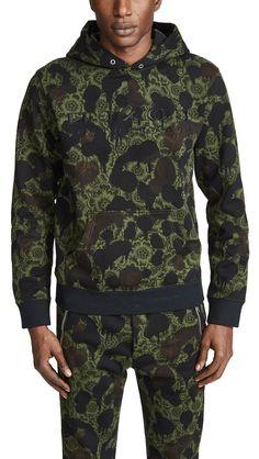 Coach Wildbeast Hoodie In Camo Mens Sweatshirts, Hoodies, Coach Men, Coach 1941, French Terry, Luxury Branding, Print Patterns, Camo, Men Sweater