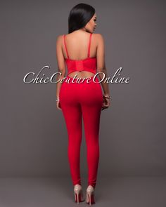 Chic Couture Online - Aiken Red Rhinestones Embellished Padded Jumpsuit. (http://www.chiccoutureonline.com/aiken-red-rhinestones-embellished-padded-jumpsuit/)