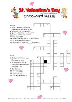 Valentine's Day Crosswords 4