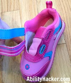 83a9cc2e38 Hacking cute shoes for over AFOs - undo the velcro straps Best Toddler Shoes,  Afo
