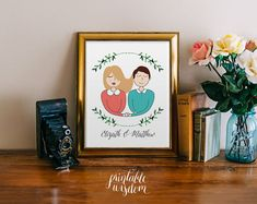 Hey, I found this really awesome Etsy listing at https://www.etsy.com/listing/179149709/custom-portrait-illustration-couple