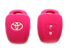 Toyota Pink Silicone Key Remote Cover Control Protecting Case Holder for 2013 2014 Camry Avalon Corolla Yaris (Single Pack) Toyota,http://www.amazon.com/dp/B00DS6KVUM/ref=cm_sw_r_pi_dp_k8UHtb0Y6PCF0Y0X