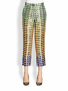 Mary Katrantzou - Tapered Trousers