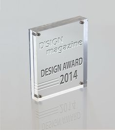 Annual D'SIGN Awards In a world with high levels of competition between starting designers, D'SIGN magazine aims to underline the best design and products by providing a supporting platform in our annual Design Award competition for young designers