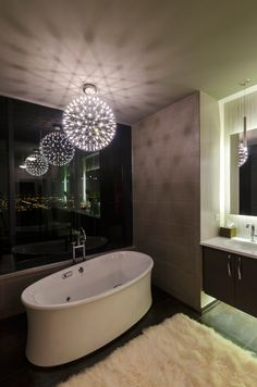 Raimond LED Suspension by Moooi   UNMOLLEDR43  I love this. Maybe not for a bathroom...