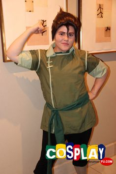 Bolin Cosplay from The Legend of Korra in Pacific Media Expo. 2012 United States