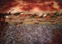 Zöldséges rakott sertésszelet recept foto Sandwiches, Pork, Keto, Kale Stir Fry, Paninis, Pork Chops