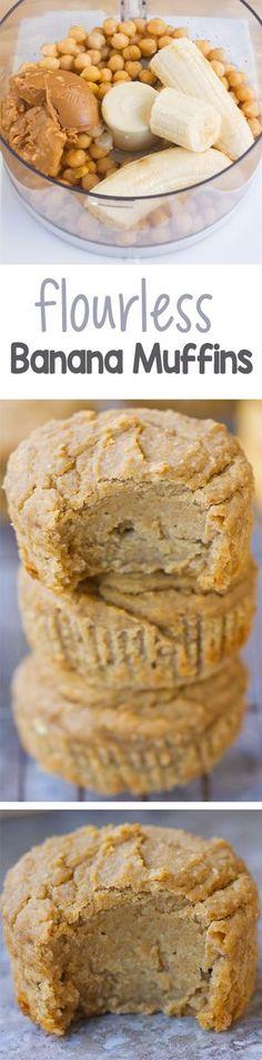 Banana muffins | Mehr leckere Rezepte findest du auf www.berioo.de