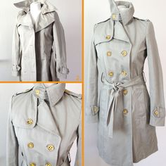 DIY - Trenchcoat Artikel #trenchcoat #knöpfe #diy #buttons #knoepfe #fashion #style #sommer #gelb #spring #clothes #jacket #selfmade #nähen