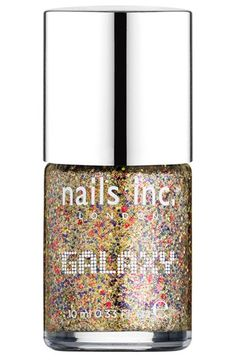 nails inc. London 'Galaxy' Nail Polish available at #Nordstrom  No, I don't have anything like this one or the Channel.