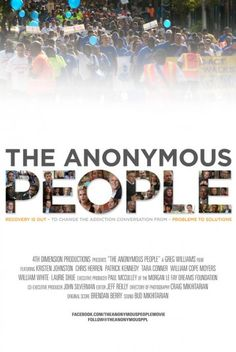 THE ANONYMOUS PEOPLE is a feature documentary film about the over 23 million Americans living in long-term recovery from addiction to alcohol and other drugs. Tara Conner, Kristen Johnston, Greg Williams, Celebrate Recovery, Alcoholics Anonymous, Addiction Recovery, Sober, Social Work, Coming Out