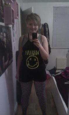 Nirvana T Shirt To Playsuit Recon