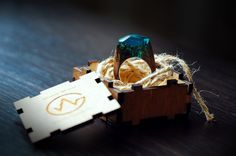 Wooden Ring  Magic gift for Her