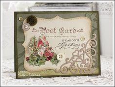 Christmas Post Card | Dietrich Designs