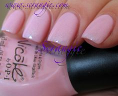 Nicole by OPI Kimpletely in Love. I really like this color/ Wearing it now.
