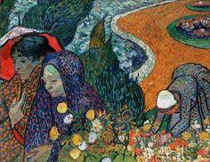 Vincent van Gogh Cennet Bahçesinin Anıları / Memories of the Garden at Etten 1888. Tuval üzerine yağlıboya. 73.5 x 92.5 cm. The Hermitage, St. Petersburg.