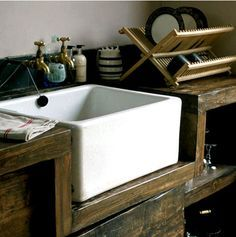 Trend This sink is actually pretty big but takes up relatively little space since it us