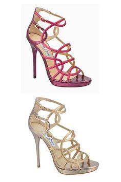 Jimmy Choo Bunting sandals.