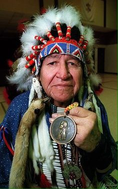Pasha Ska, an Elder of the Oglala Sioux tribe from the Pine Ridge Reservation in South Dakota