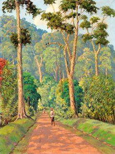 Arthur Eland - Boschweg Kali-Baroe, Oost Java