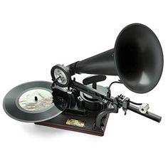 Premium DIY Gramophone Kit - Think Geek