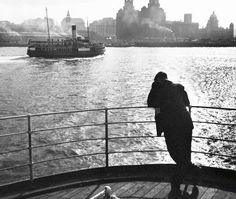 Mersey Ferry mid 1950s ................ me old dad was born in Dublin 1938, became a solider then came and settled in Liverpool, my home city, R.I.P dad, love all this history, great photo
