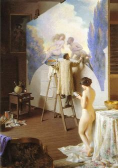 El pintor - William Worcester Churchill