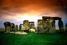 Stonehenge, I camped out 500 meters from here once. Stonehenge by sunrise, its the way to go.