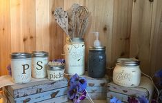These original and fun mason jar gifts are stocking stuffers anyone would be pleased to receive. Mason Jar Gifts, Mason Jars, Natural Crafts, Good Housekeeping, Jar Crafts, Stocking Stuffers, Canning, Unique, How To Make