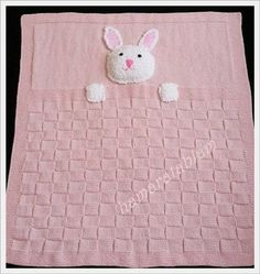 Hamaratablam: Hase Bruder Babydecke You are in the right place about baby decke sitricken anleitung Free Baby Blanket Patterns, Baby Girl Patterns, Crochet Blanket Patterns, Baby Blanket Crochet, Crochet Baby, Knitting Patterns, Baby Girl Blankets, Baby Afghans, Bunny Blanket