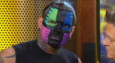 Jeff Hardy TNA.... I LOVE THIS FACE PAINTING!!!!!!!!