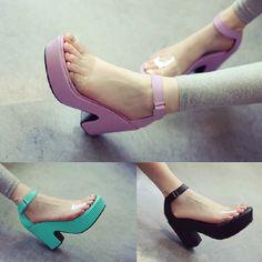 Wicked platform sandals.