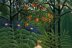 henri-rousseau-woman-walking-in-an-exotic-forest-1905.jpg (440×300)