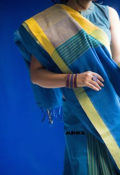 Tale Of A Saree-holic — Menka :: Cotton Mantra :: Fall 2015 :: Look Book...