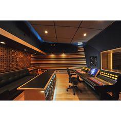 Inspiring recording studio!
