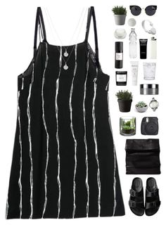 """White stripes"" by f-resh ❤ liked on Polyvore featuring American Rag Cie, ADAISM, Muuto, Byredo, Natio, Eight & Bob, Clinique, Schott Zwiesel, Givenchy and WeSC"