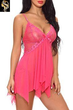 black Babydoll  sheer mesh /& lace Nightwear UK Size 10-12 Free Post Thong #52#53
